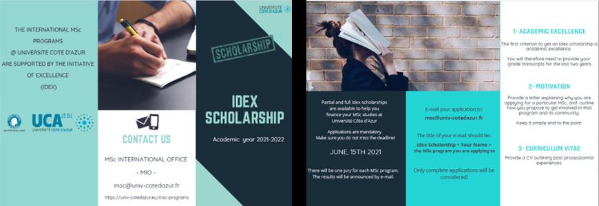 Idex scholarships