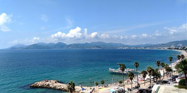 Cannes vue mer