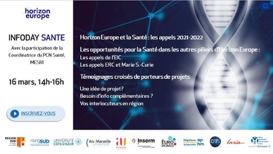 Webinaire Santé Horizon Europe
